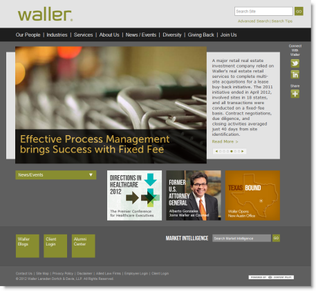 Waller - new home page 2