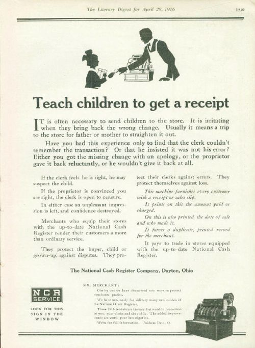 NCR Teach Children
