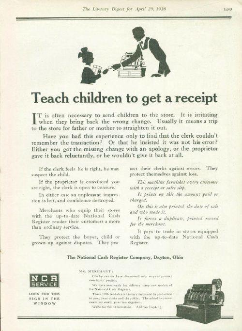 NCR Teach Children