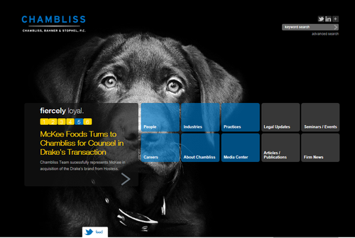 Chambliss home page