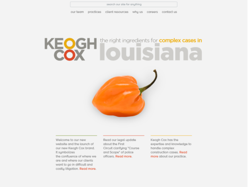 Keogh Cox home page new