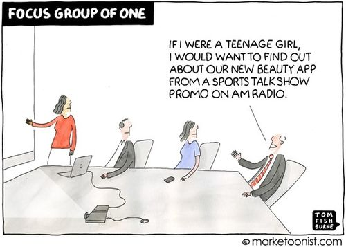 Marketoon - Focus group of one - 6 29 15